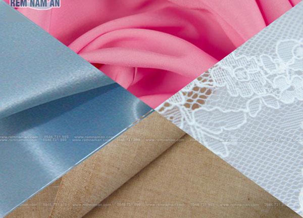 Các loại chất liệu vải làm rèm