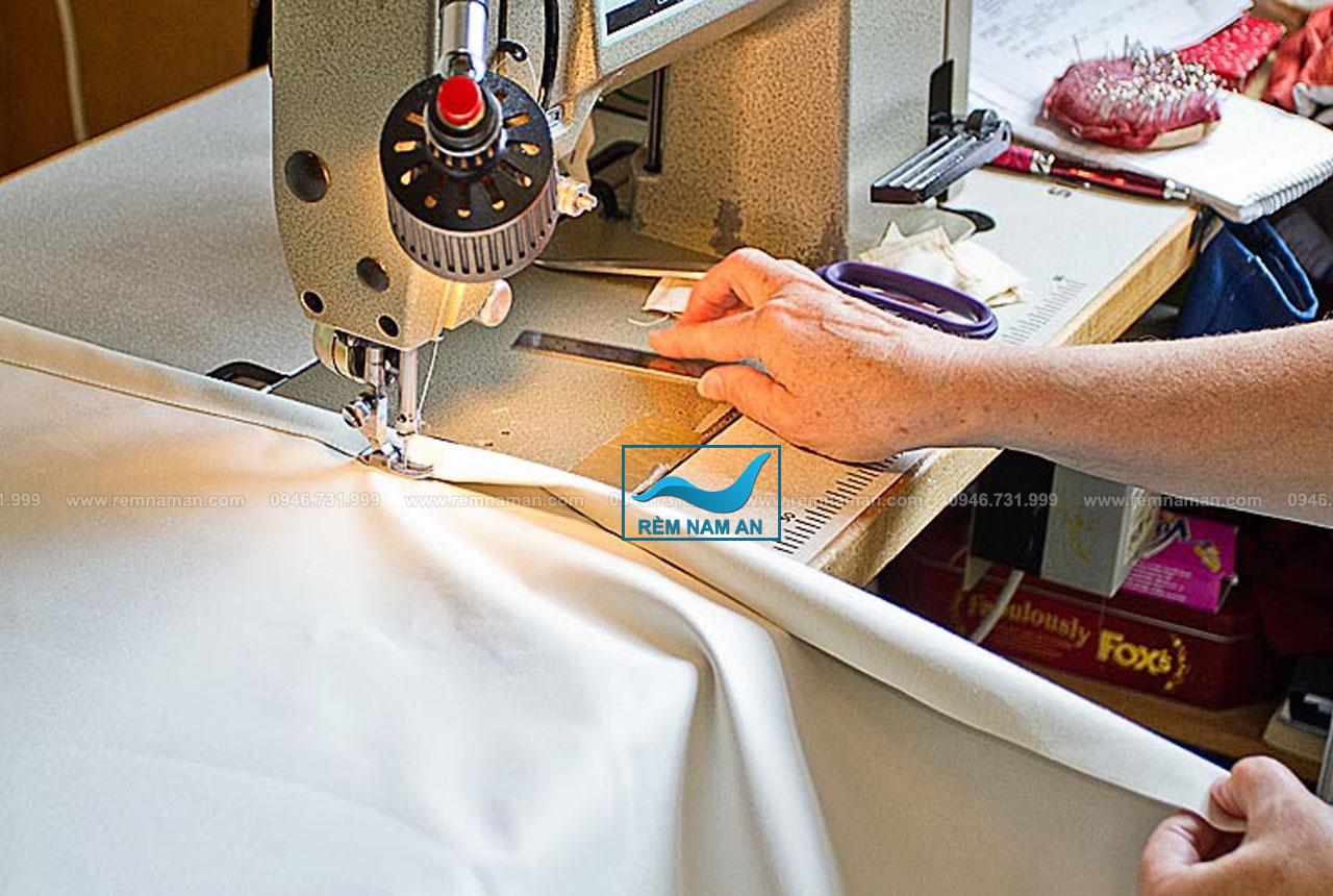 Cách may rèm vải chiết ly