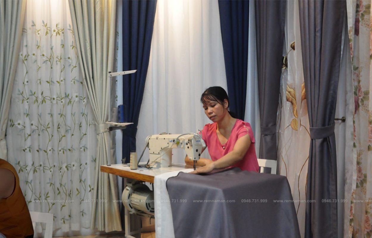 Xưởng may đo rèm vải tiêu chuẩn
