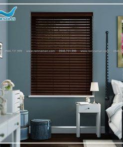 Rèm gỗ cửa sổ phòng ngủ đẹp