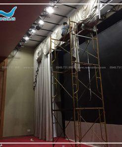 rèm phông nền sân khấu backdrop