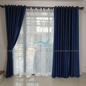 Rem cửa 2 lớp vải đẹp