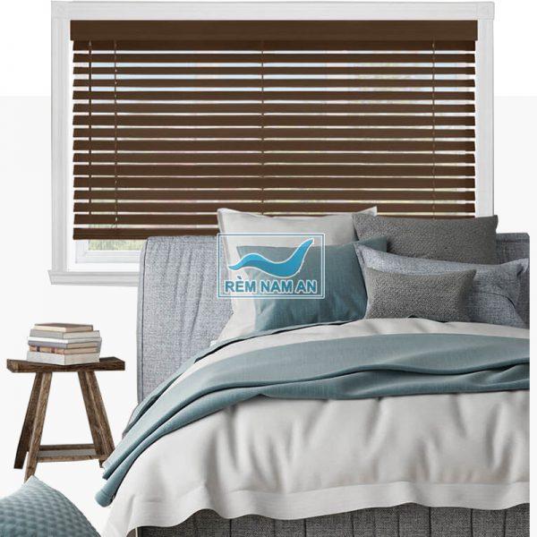 rèm gỗ phòng ngủ đẹp