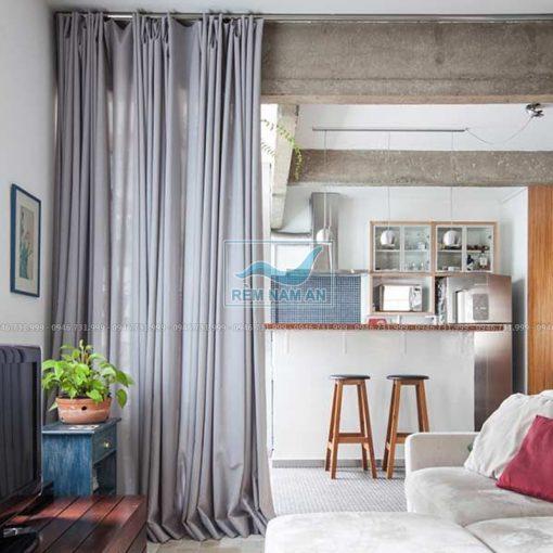 Rèm ngăn phòng bếp và phòng khách