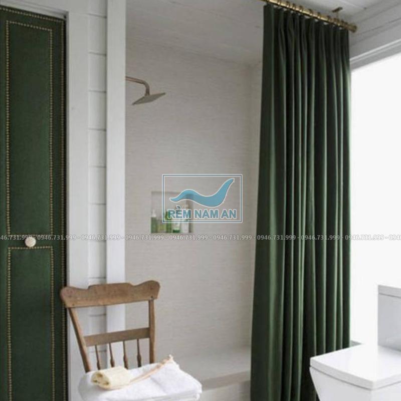 Rèm ngăn phòng tắm bằng vải chống nước