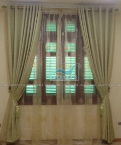 Rèm treo cửa sổ bằng vải