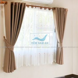 Rèm vải treo cửa sổ đẹp