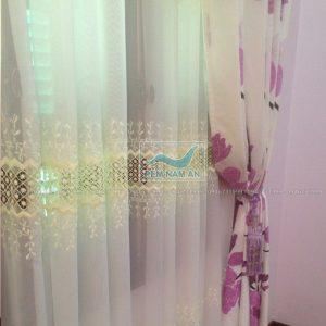 Rèm vải 2 lớp treo cửa sổ đẹp