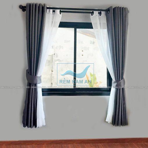 Rèm vải treo cửa sổ phòng đẹp
