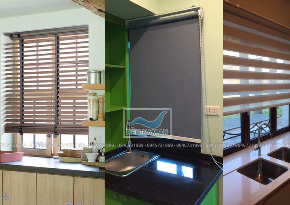 cách chọn rèm cửa cho phòng bếp và khu nấu ăn