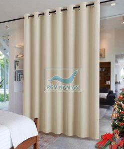 Rèm ngăn phòng khách và phòng ngủ bằng vải giá rẻ