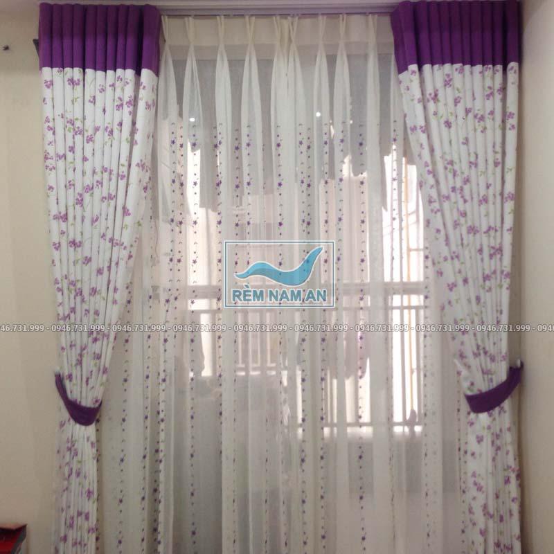 Mãu rèm vải cửa sổ đẹp