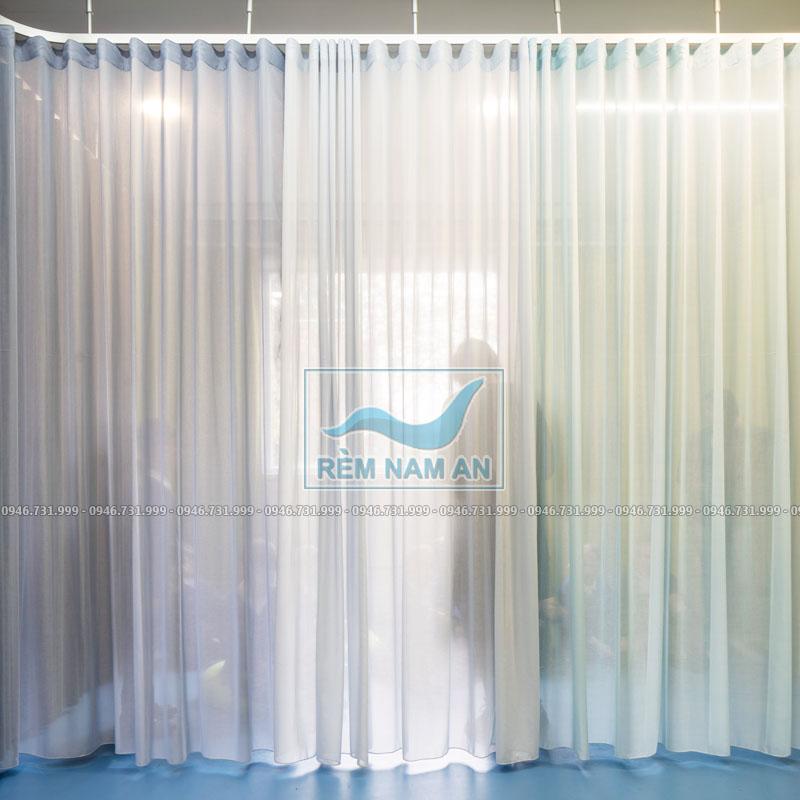Rèm vải voan ngăn phòng