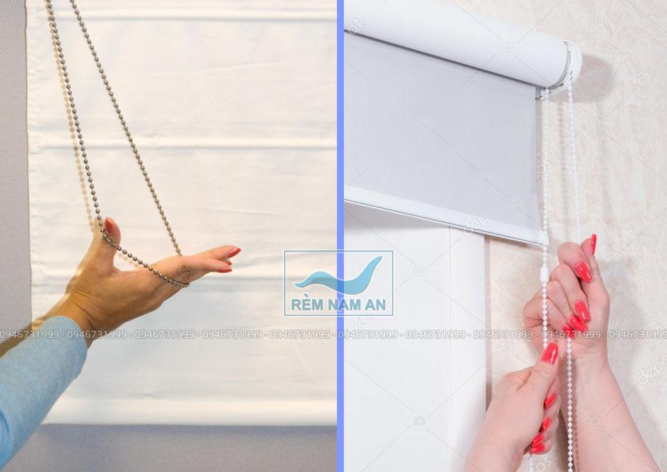 Tìm hiểu các loại rèm cửa kéo dây phổ biến