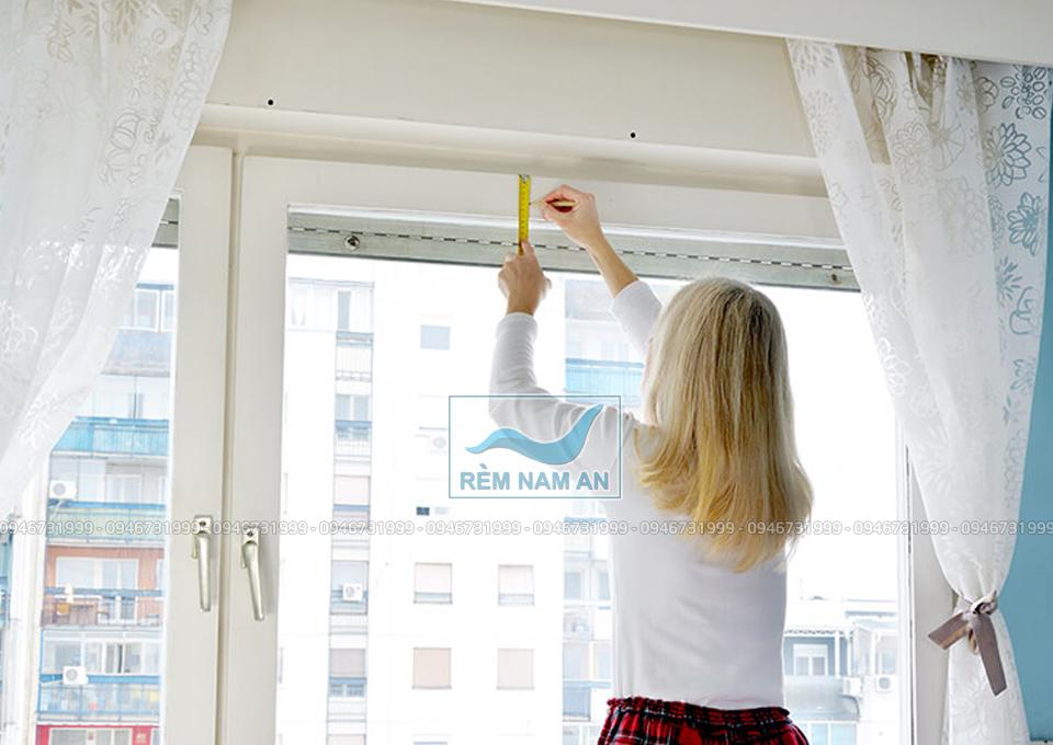 Cách đo cửa treo rèm vải đẹp