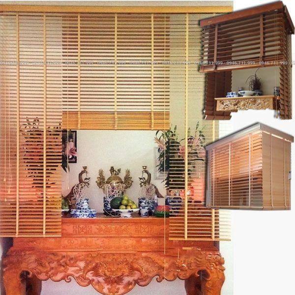 Rèm gỗ che bàn thờ các loại