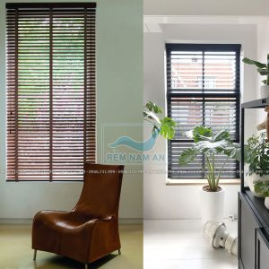 Mẫu rèm gỗ cửa sổ nhỏ đẹp nhất