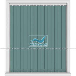 Rèm lá dọc màu xanh lục đẹp cho cửa sổ