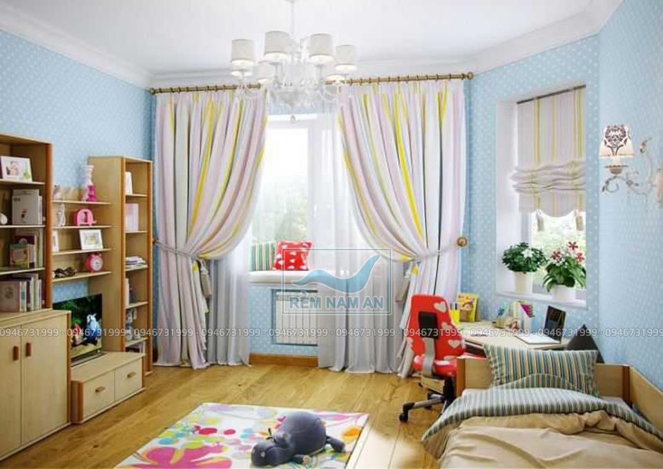 Chọn rèm phòng trẻ em theo nội thất