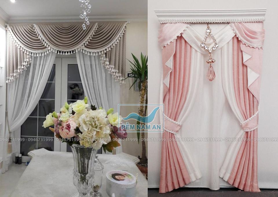 Rèm trang trí trong nội thất nhà đẹp