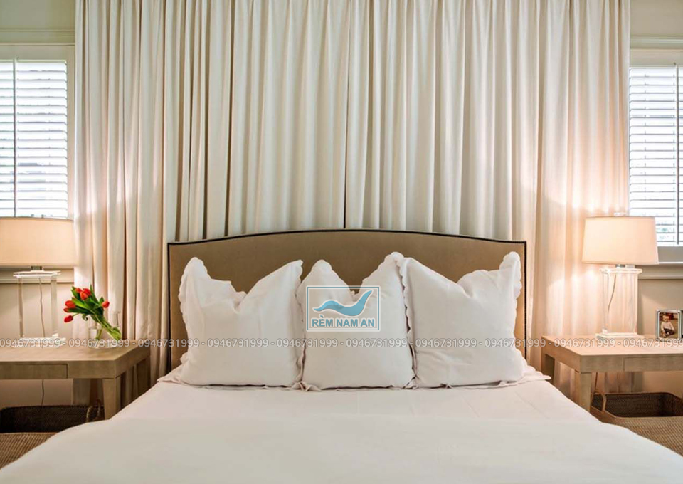 Cách chọn màu sắc rèm treo đầu giường