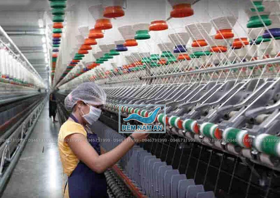 Nhà máy dệt sợi vải thô